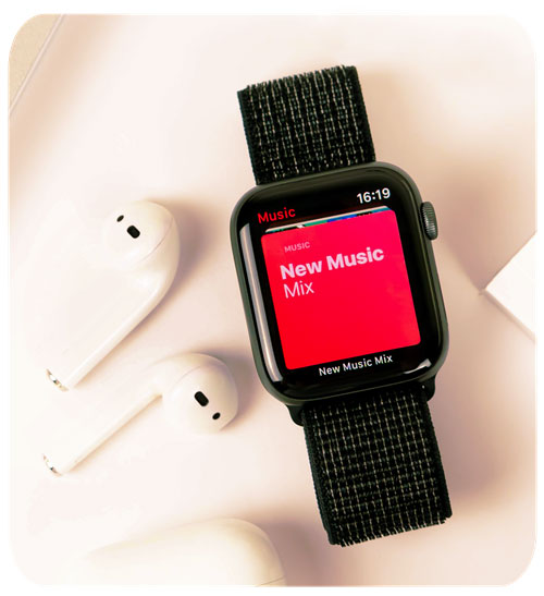 A Smartwatch as Your Wearable Music Player