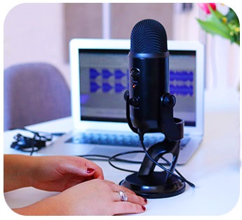 Microphone Used in Video Conferencing