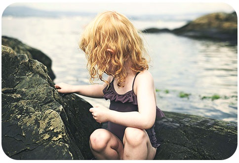 Outdoor Children Photography Near Natural Watercourses