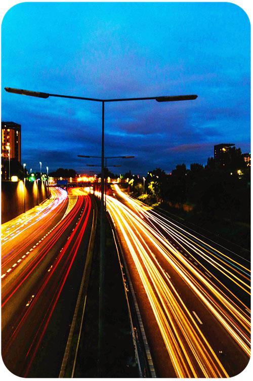 Urban Landscape Photography Using Light Trails