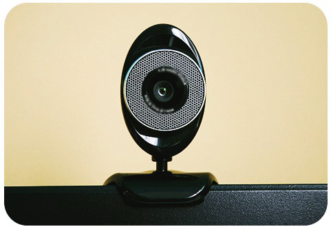 Webcam Used for Video Confere