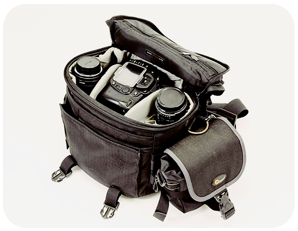 Camera Bag and Travel Bag for Traveling Photo Gear