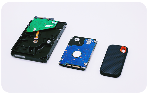 HDD and SSD Differences and Usages