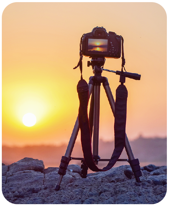 Travel Tripod for Traveling Photography