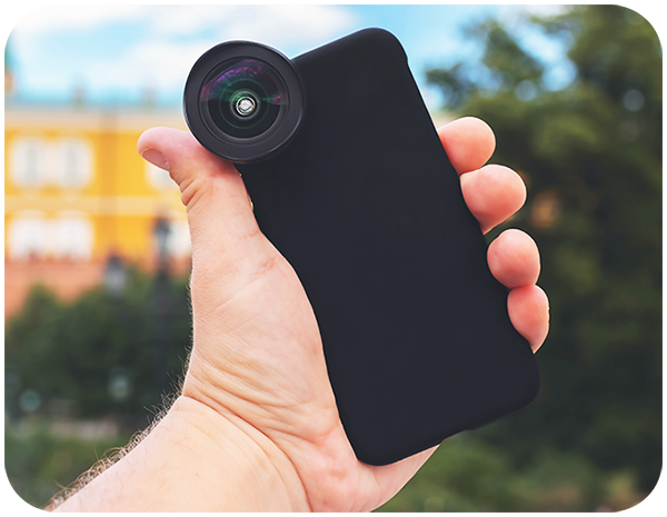 Smartphone Camera Lenses for Zooming