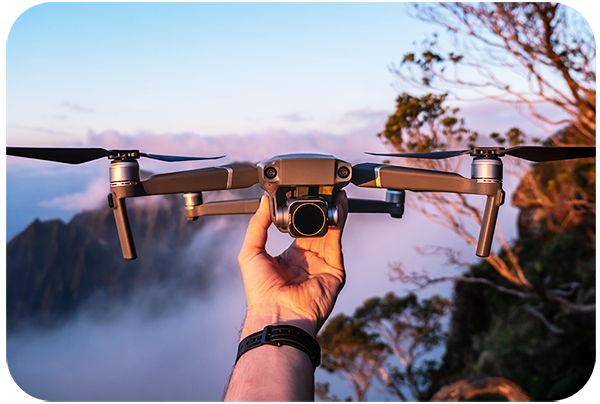 Talking a little bit about the evolution of drones